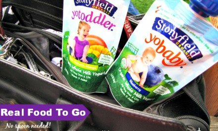 Stonyfield Organic Yogurt Pouches: Real Food – No Spoon Needed!