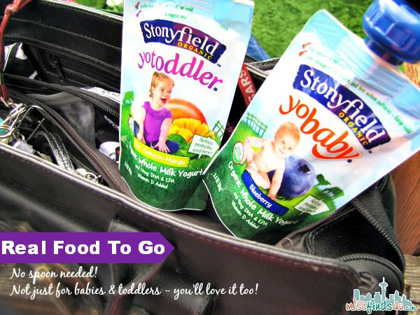 Stonyfield Organic Yogurt Pouches - YoBaby, YoToddler & YoKids #MC #sponsored
