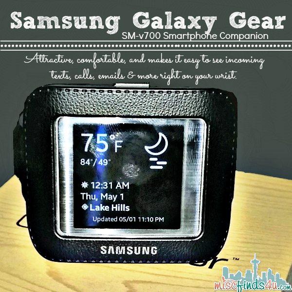 Samsung Galaxy Gear SM-V700 Smartwatch Review