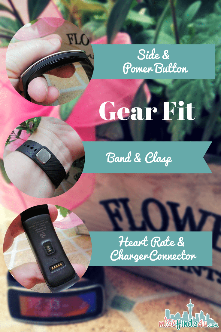 Samsung Gear Fit - Close-up Pictures of Parts -  #CollectiveBias #shop