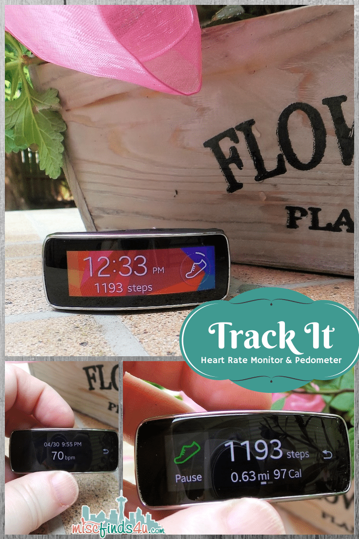 Samsung Gear Fit Fitness Tracking Band with Smartwatch Features -  #CollectiveBias #shop