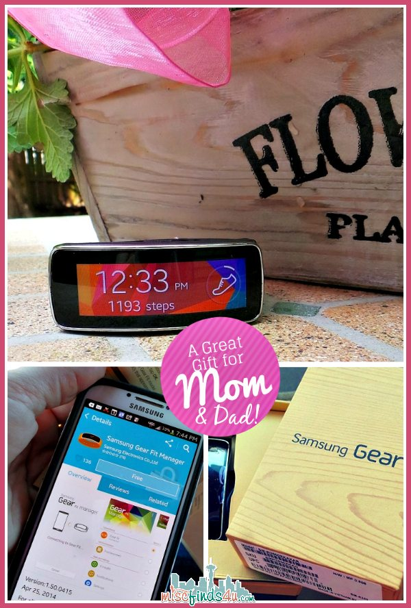 Samsung Gear Fit - Fitness Tracker and Smartwatch -  Great Gift for Mom #CollectiveBias #shop