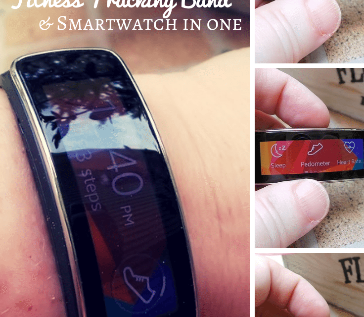 Samsung Gear Fit: Fitness Tracking Band and Smartwatch Mashup