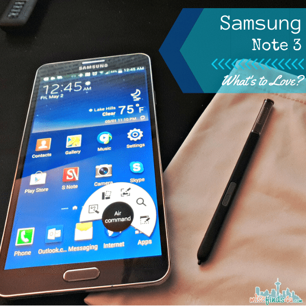 Galaxy Note 3 by Samsung: What's to Love?
