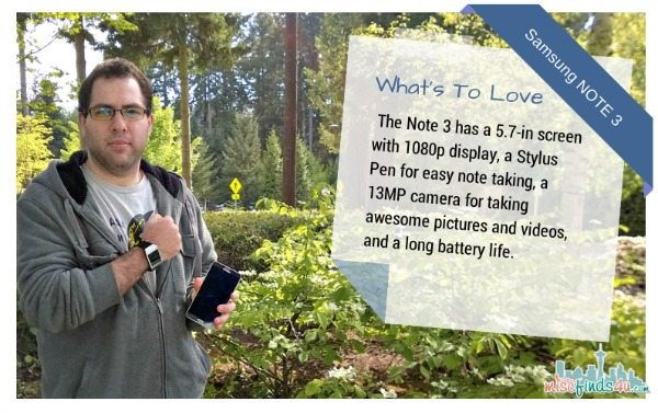 Galaxy Note 3 by Samsung: What's to Love?  #ATTSeattle - ad