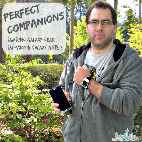 Galaxy Gear SM-v700: Samsung Smartphone Companion