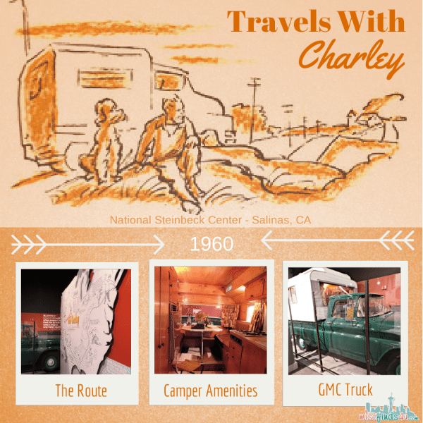 Travels With Charley Exhibit National Steinbeck Center