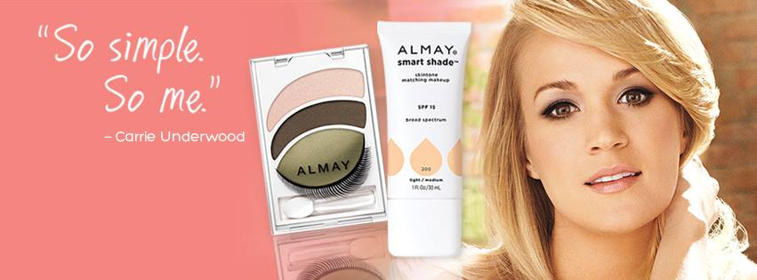 Carrie Underwood Almay Spokesperson - sponsored