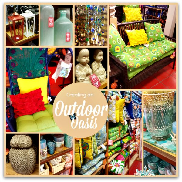 Creating an Outdoor Oasis with Pier 1 - Outdoor Oasis Party: Create One in 3 Easy Steps #MC #Pier1OutdoorParty @pier1 sponsored
