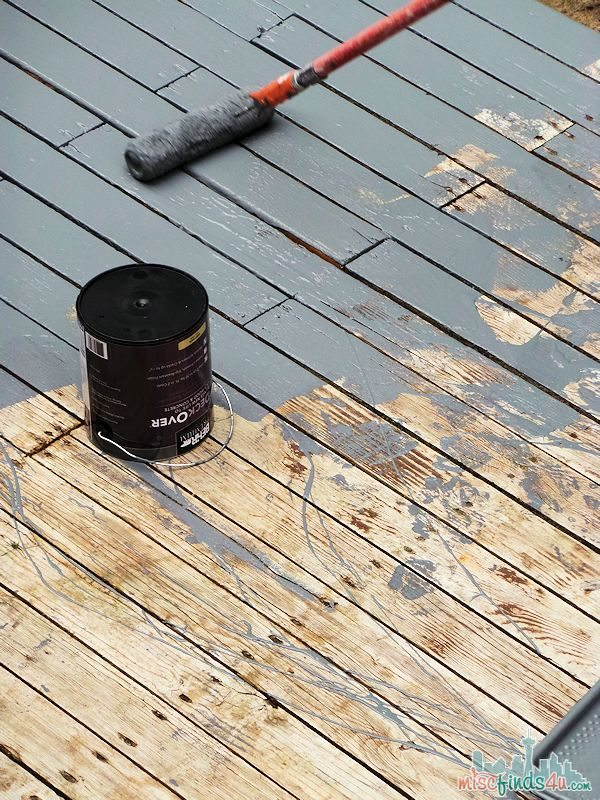Behr Deckover Review Making An Old Deck To Look New