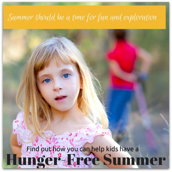 Hunger-Free Summer – How You Can Feed a Child in Just 3 Minutes
