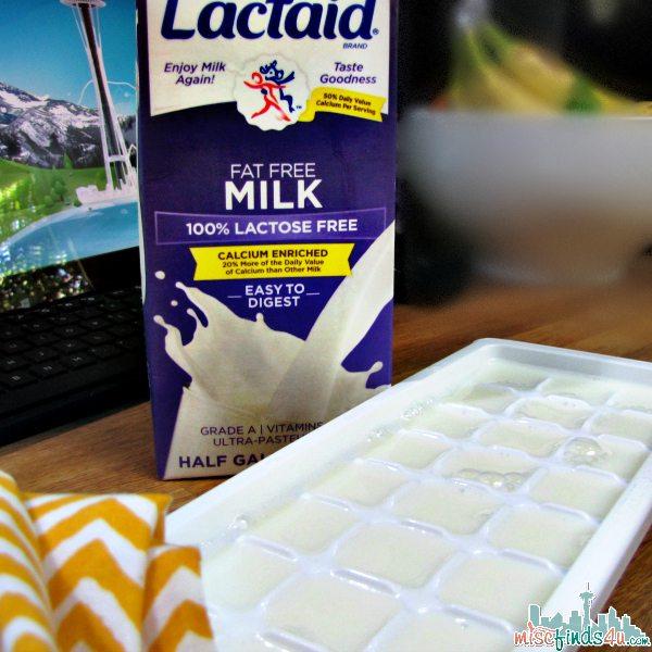 how to make lactose free milk shakes
