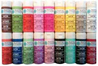 Martha Stewart Craft Paint - Satin