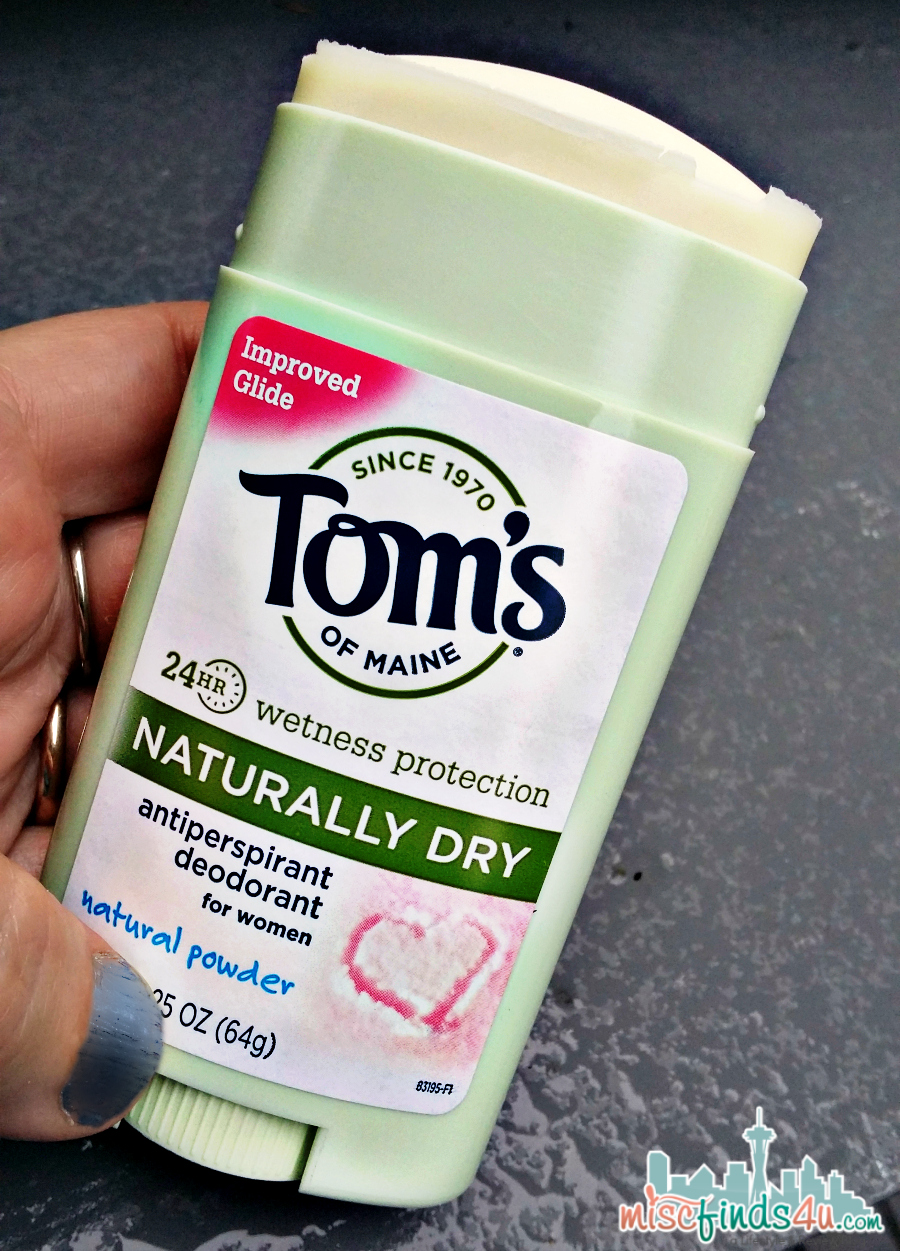 Tom's of Maine Naturally Dry Antiperspirant - Clear & Natural #cbias #shop