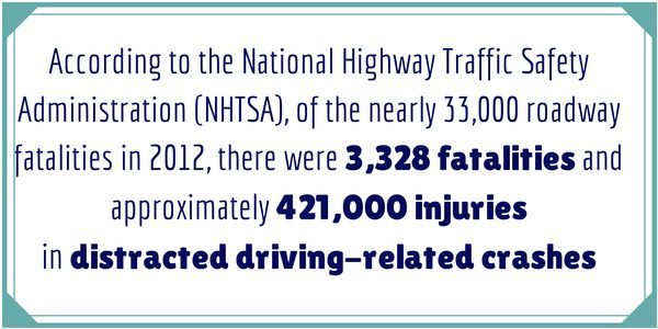 NHTSA 2012 Distracted Driving Statistics - Distracted Driving: It's Time To Admit We're the Problem #DecideToDrive #CleverGirls sponsored
