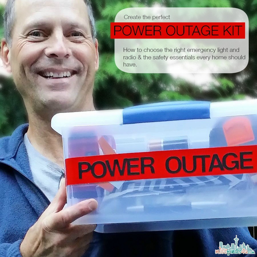 My personal firefighter approves! Power Outage Kit - How to Choose the Essentials & Power it with Duracell #PrepWithPower  #cbias