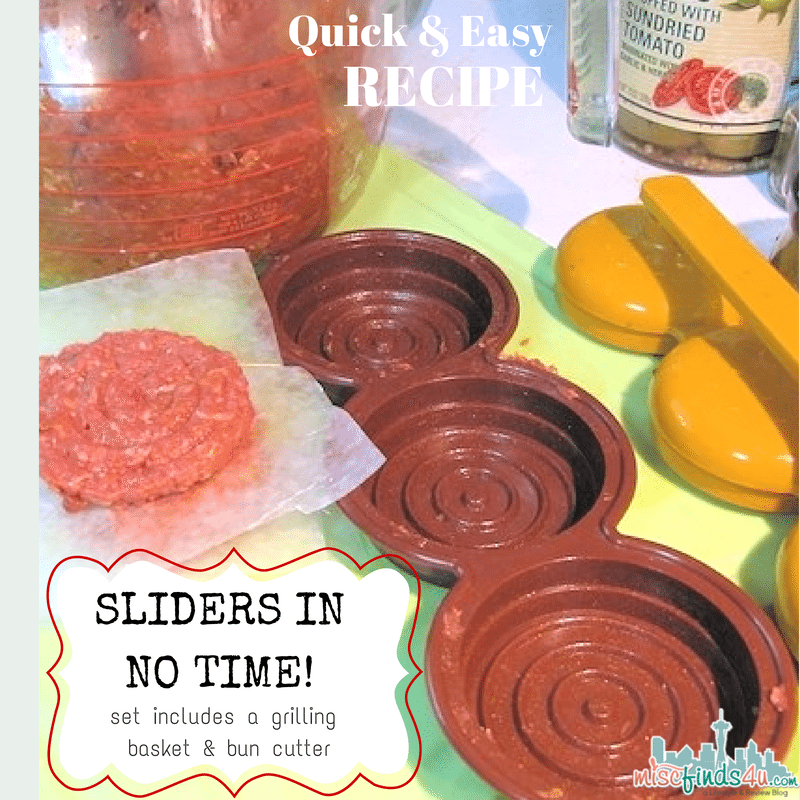 Quick and Easy Slider Recipe #worldmarket ad