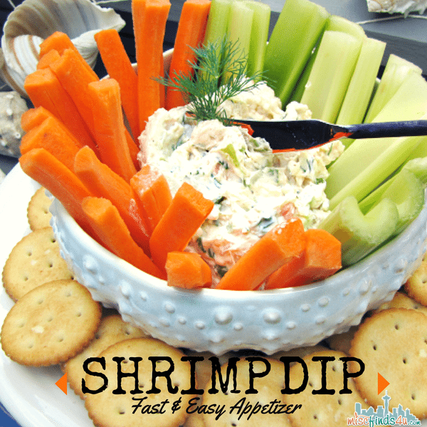 Easy Appetizers And Dips: Canned Shrimp Dip Cream Cheese
