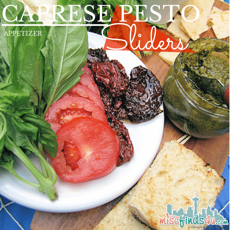 Caprese Pesto Sliders Recipe -   #WorldMarket Ad