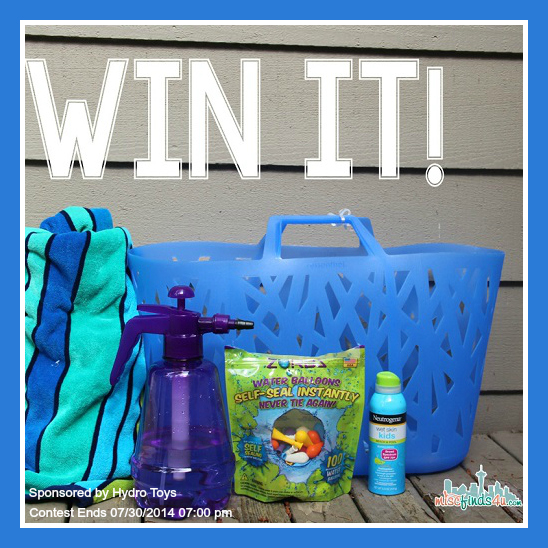 Zorbz Water Toys Prize Pack