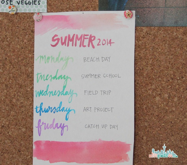 kids-summer-routine
