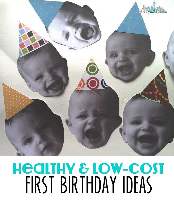 healthy and low cost birthday ideas from Rosie Pope