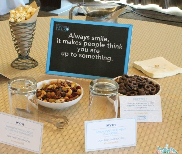 """Straight Talk"" event Invisalign Teen: Straight Talk For Generation Z #InvisalignTalk @Invisalign sponsored"
