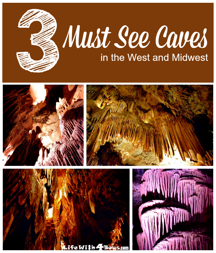3 Must See Caves in the West and Midwest USA