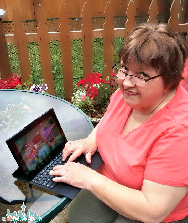 "Mom and her ""new"" Nokia Lumia 2520 Tablet with Microsoft Windows 8.1"