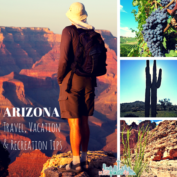 Arizona Travel Vacation and Recreation Tips