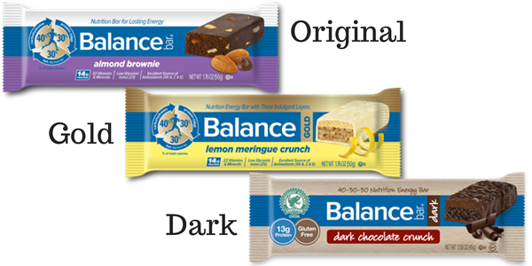 Balance Bars - What's the difference between Gold, Original, and  Dark? Balance Bar: Chocolate Protein Energy Bars We Both Love #BalanceShapeUp #ad