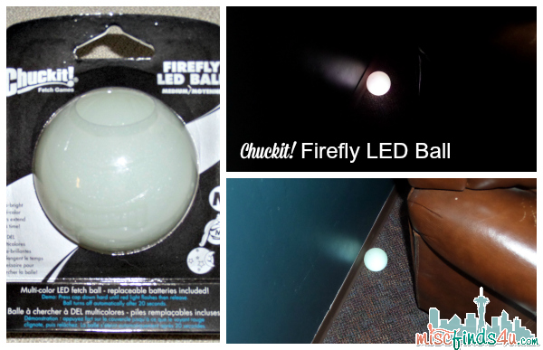 Chuckit! FireFly LED Ball by Petmate - sponsored