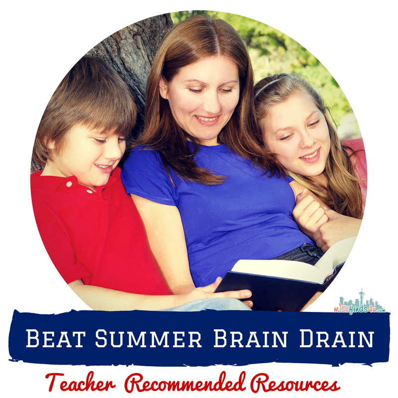 Beat Summer Brain Drain with these Teacher Recommended Resources