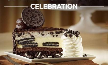 Cheesecake Factory 1/2 Price Cheesecake & Contest #SayCheesecakeContest