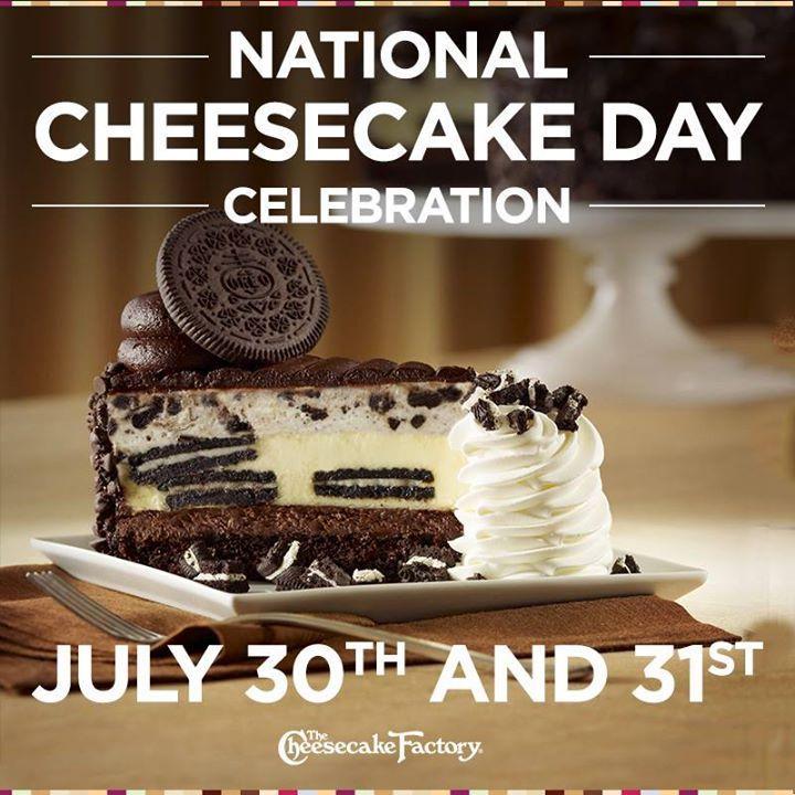 National Cheesecake Day - Half Price Cheesecake Factory Cheesecake #ad #saycheesecakecontest #nationalcheesecakeday