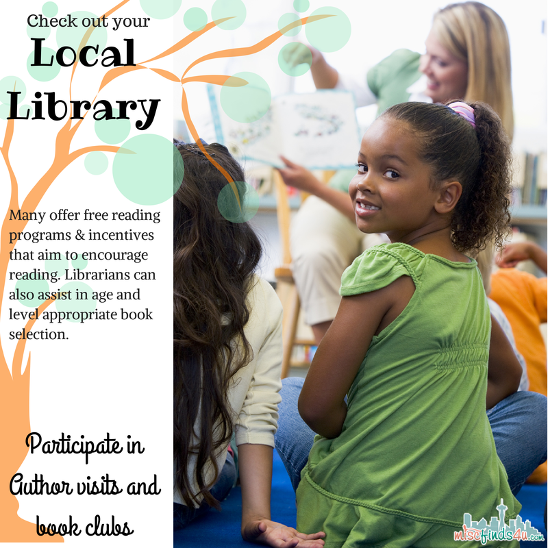 Reluctant Readers -Your Local Library likely has a wealth of help available for free!