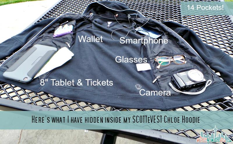 SCOTTeVEST Chloe Hoodie - Ad