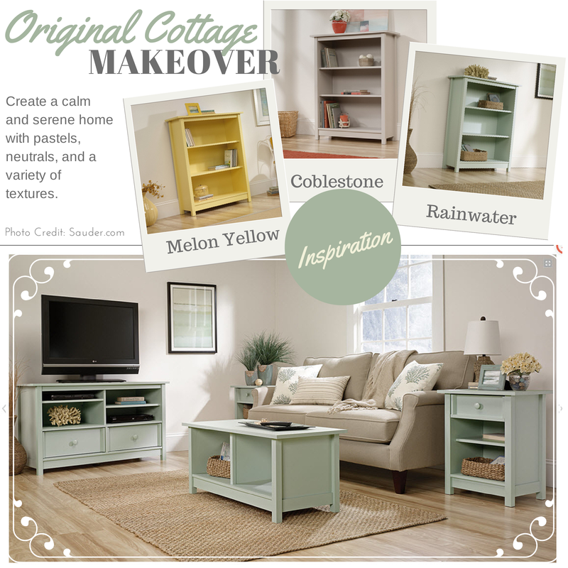 Sauder: Easy Room Makeover with Ready-to-Assemble Furniture Made in the USA - ad