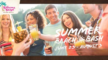 Bahama Breeze Summer Beach Bash Events #SummerBeachBash
