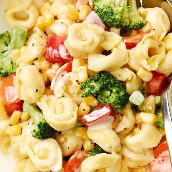 Tortelini Caesar Pasta Salad Recipe by Parade