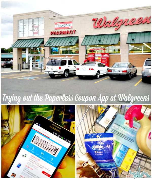 Walgreens app coupon code