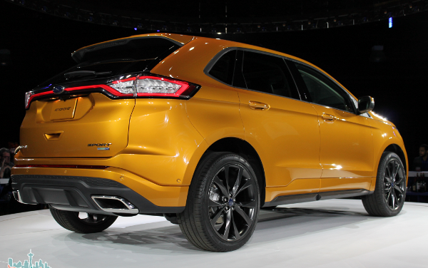 2015 Ford Edge: Where Style, Function and Technology Meet #FurtherWithFord