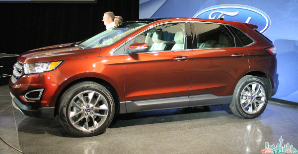 Unveiling the 2015 Ford Edge