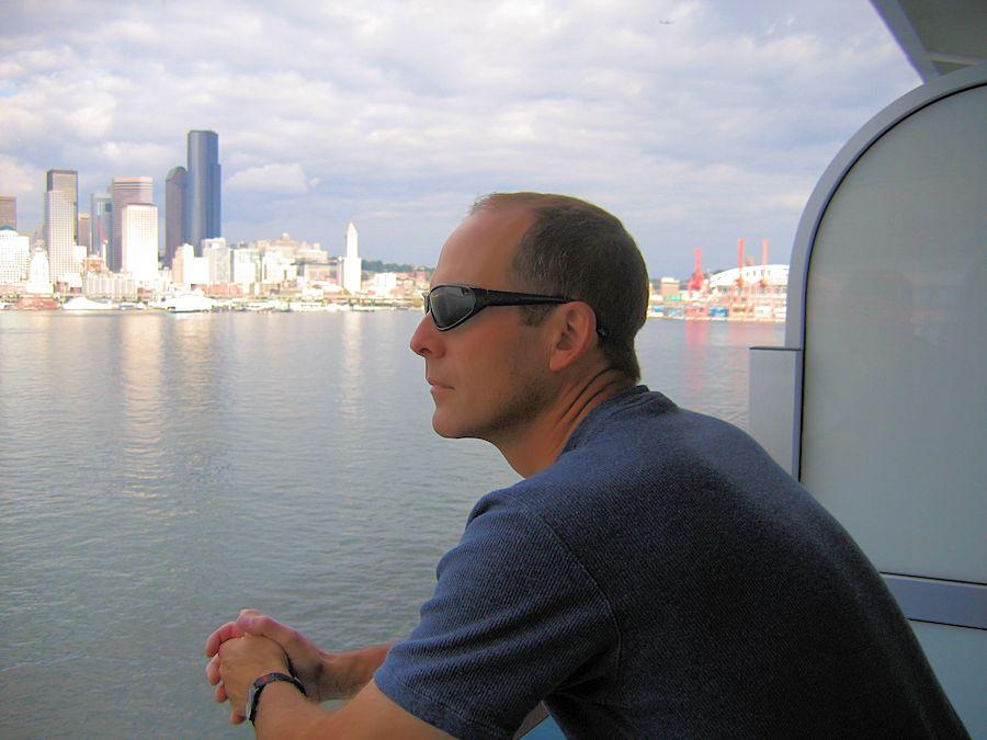 Alaska Inside Passage Cruise - Leaving Seattle