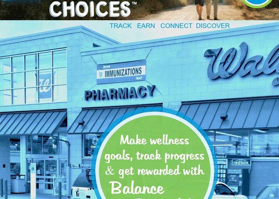 Walgreens Balance Rewards for healthy choices Program #HealthyChoices