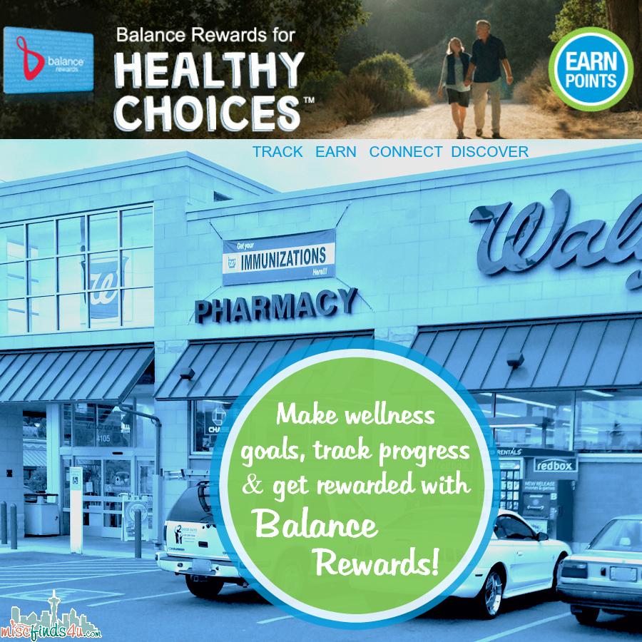 Walgreens Balance Rewards for healthy choices™ #BalanceRewards #cbias #shop