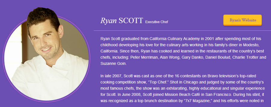 Chef Ryan Scott French Recipes