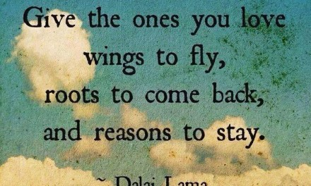 Dalai Lama Quotes: Roots and Wings – A Lesson on Parenting