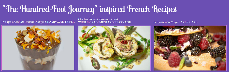French Recipes inspired by Hundred-Foot Journey