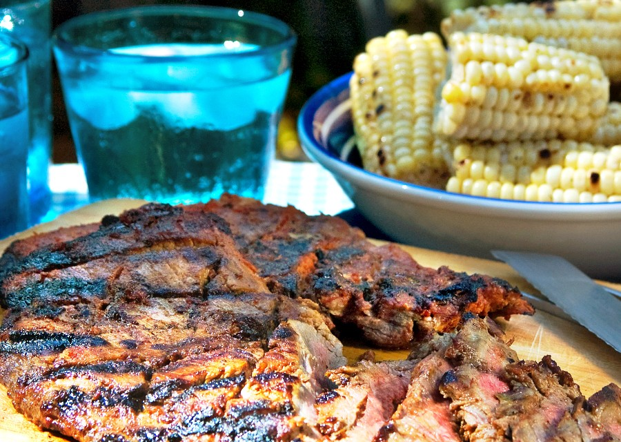 Holland House Recipe: Grilled Chipotle Skirt Steak  #Giveaway